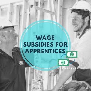 WHO: Employers with apprentices or trainees.